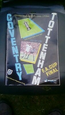 Coventry city v spurs 1987_cup final