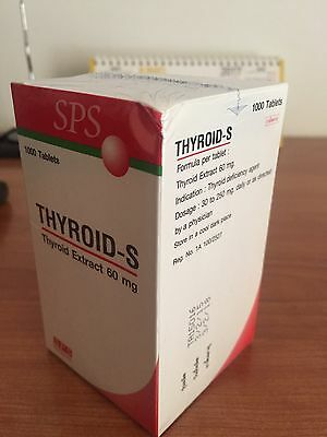 Thyroid-S  1000 Tablets 60 Mg.