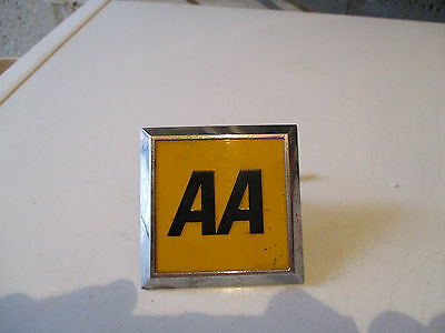 car badge AA