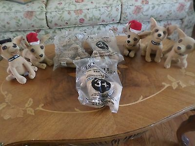 8 Vintage Taco Bell Talking Chihuahua -3 Still Talk, Others Don't Appear To