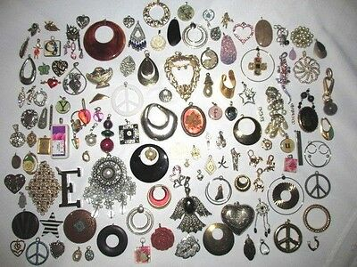 Junk Drawer Pendant Lot, 2 Lbs. Misc.