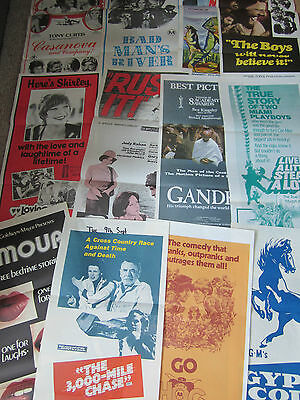 Job Lot (12) Original Australian Daybills Film Posters (Overstocks)  Set 9