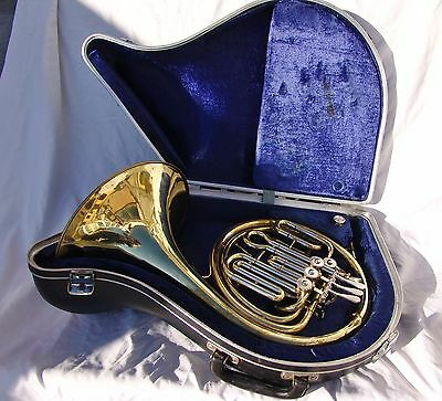 PAXMAN 'PRIMO' 3/4 size FRENCH HORN, ANBOURG (COMO ITALY) WITH HARD CASE