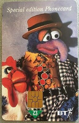 BT Special Edition Muppet Phonecard