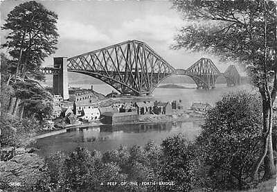 Scotland A Peep of the Forth Bridge, bruecke pont 1955