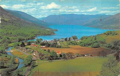 Scotland A Bird's Eye View of Loch Earn at St. Fillans 1977