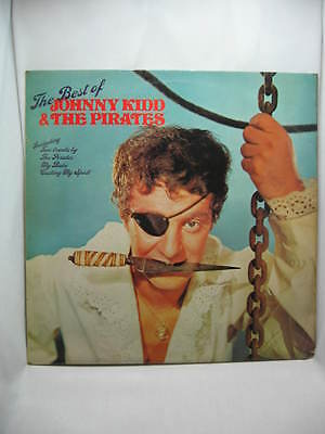 The Best of Johnny Kidd & the Pirates, vinyl record LP