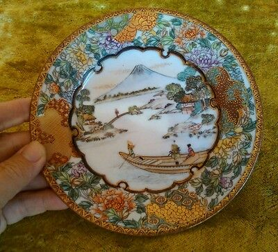 Oriental chinese Japanese plate antique
