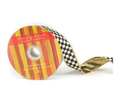"MacKenzie-Childs Courtly Check Ribbon 1"" W X 10 yards H"