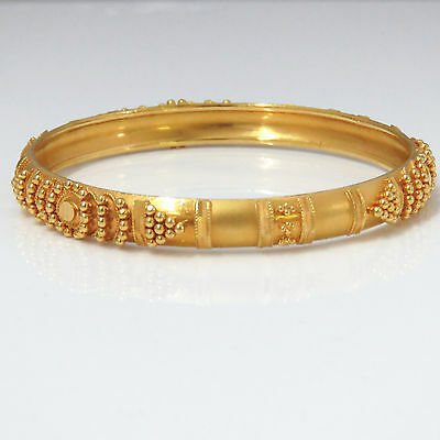 NYJEWEL 22k Solid Gold Brand New India Style Bridal Bracelet