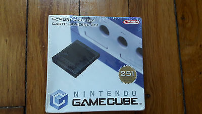 Carte mémoire (Memory Card) 251 blocs Nintendo Game Cube Gamecube PAL FR