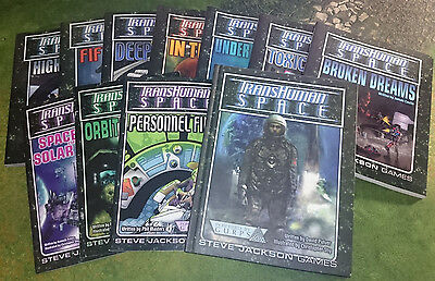 Transhuman Space | Complete Collection | GURPS 3rd | Steve Jackson Games
