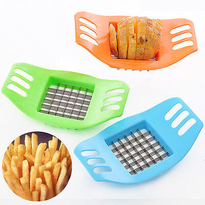 r* Stainless Steel Potato Cutter Slicer Chopper Kitchen Cooking Tools Gadgets