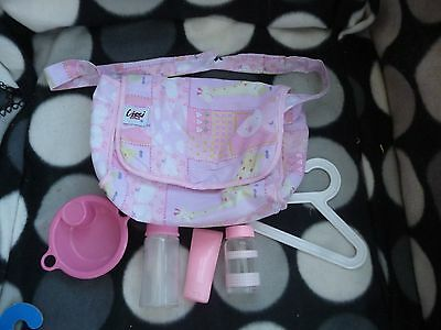 LISI Doll DOLLS Doll BAG + ACCESSORIES Fit BABY ANNABELL and BABY BORN Doll