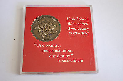 United States Bicentennial Anniversary 1776-1976 Commemorative Bronze Coin Mint