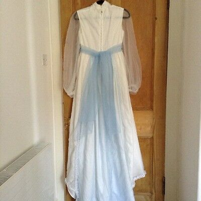 Vintage 1970s Wedding Dress