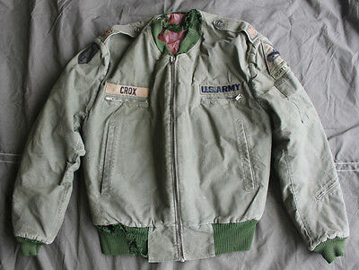 Vintage Vietnam War Tanker Jacket w/ Patches MACV Patch - ARVN Advisor