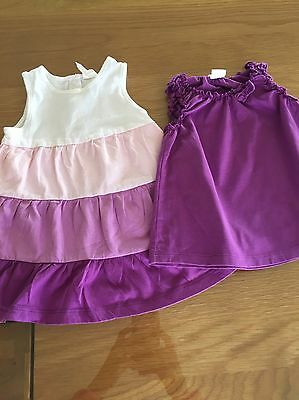 H&M Baby Girl Summer Jersey Dress / Top 6-9 Months