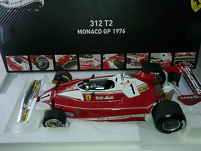 Hot Wheels Elite RUSH Ferrari 312 T2 Niki Lauda winner Monaco 1976 1/18