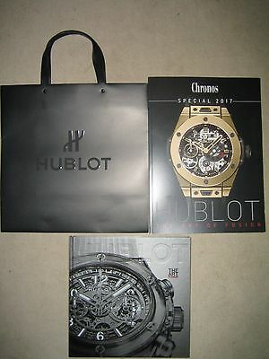 HUBLOT Katalog Prospekt THE ART OF FUSION +Preise+Magazin CHRONOS Special+Tasche
