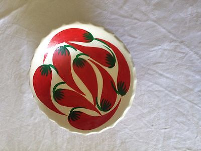 Ceramic/pottery CHILLI dish