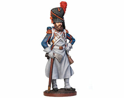 Tin Soldier - French sapper of foot grenadiers (Napoleonic Wars) 54 mm