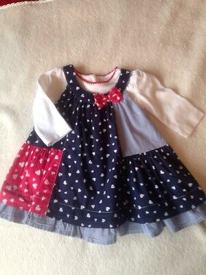 Matalan Baby Girl 2 Piece Dress Age Newborn