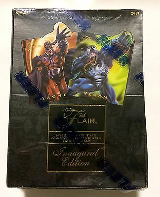 1994 Flair Mavel Universe INAUGURAL EDITION card box 24 packs from a sealed case