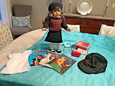 American Girl MOLLY Historical Doll Retired With Books & Huge Lot of Accessories