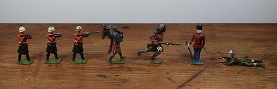 Vintage Mixed Collection Of Britains Lead / Metal Soldiers