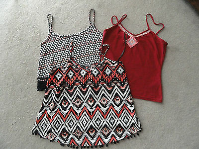 Vest Top Bundle Size 6 & 8 X 3