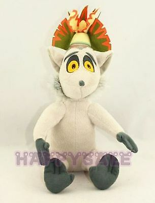Penguins of Madagascar King Julien Lemur Plush Stuffed Doll Toy  Hot Sold