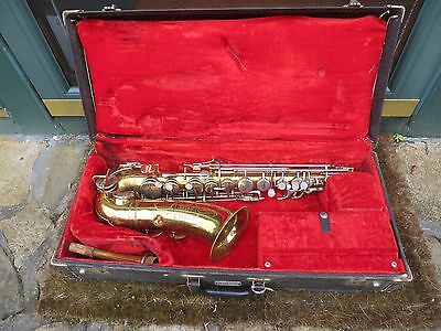 Martin Handcraft Imperial Alto Saxophone with Hard Case.