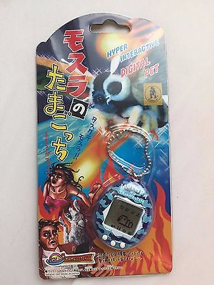 Tamagotchi Mothra Clear Blue RARE Limited Edition 2000 Pieces