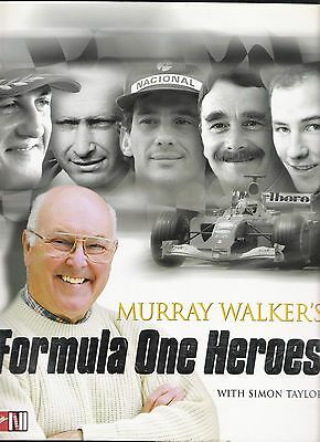 Formula One Heroes by Murray Walker 2000 F1 book