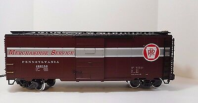 Lgb  Pennsylvania Rr #469150 Merchandise Service Box Car / Metal Wheels/g Scale