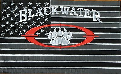Blackwater Usa Private Military Security Academi Contractor Flag Banner