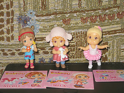 Babyou - lot of 3 figurines