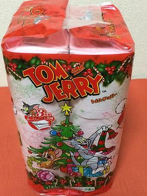 TOM & JERRY Christmas Puremium Ver.Toilet Paper Roll Set(12rolls) With Fragrance