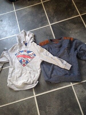 Boys Jumper And Hoody 5-6 6-7 Years