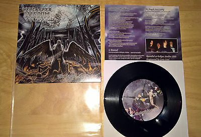 """Blackened Wisdom - The Angels Are Crying - 7"""" - USA Black Death Metal"""