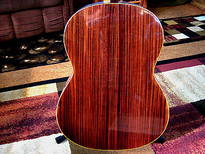 """Vintage Premium """"Rosewood"""" Aria A588 Classical Acoustic Guitar made In Japan"""