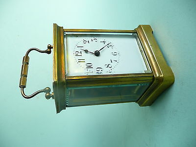 Antique 8 day Brass Carriage Clock.......................................ref.177