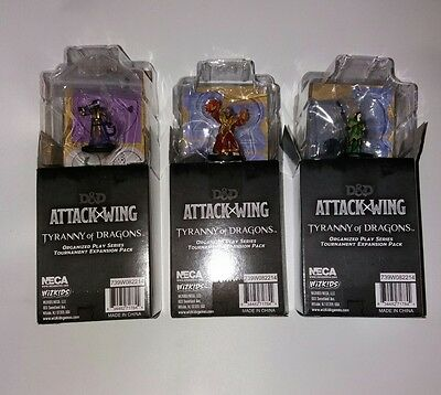dungeons and dragons D&D attack wing 3x OP blind boosters
