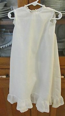 Vintage Long White Baby/Doll Slip