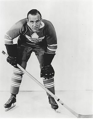 King Clancy 8X10 Photo Toronto Maple Leafs Nhl Hockey Picture