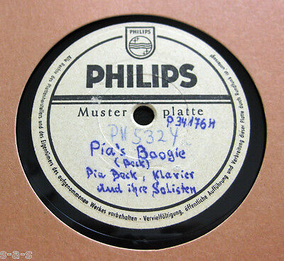 Nice Price: Pia Beck & Solisten - Pia's Boogie / Yes Sir, That's My Baby PHILIPS