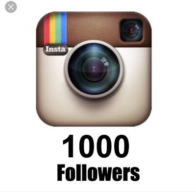 IG Followers  For SALE 1000