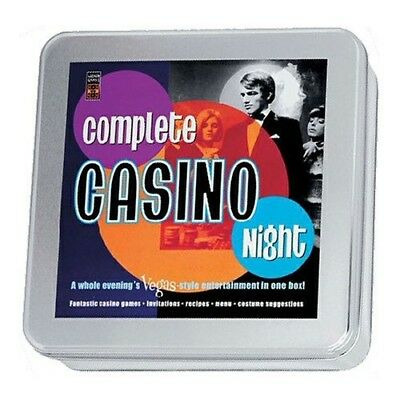 Lagoon Games Complete Casino Night Game. Free Delivery