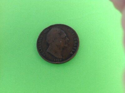 1834 Great Britain William IV Penny